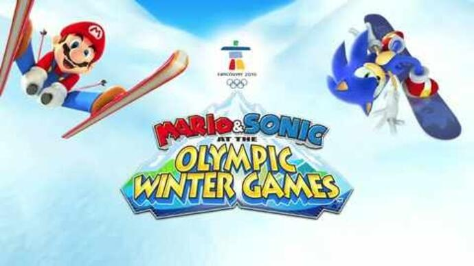 Mario & Sonic Olympic at the Winter Games - DStrailer