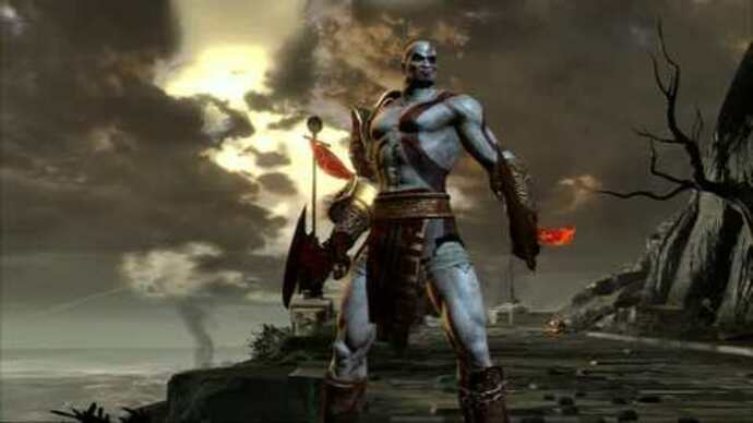 God Of War III demo gameplay