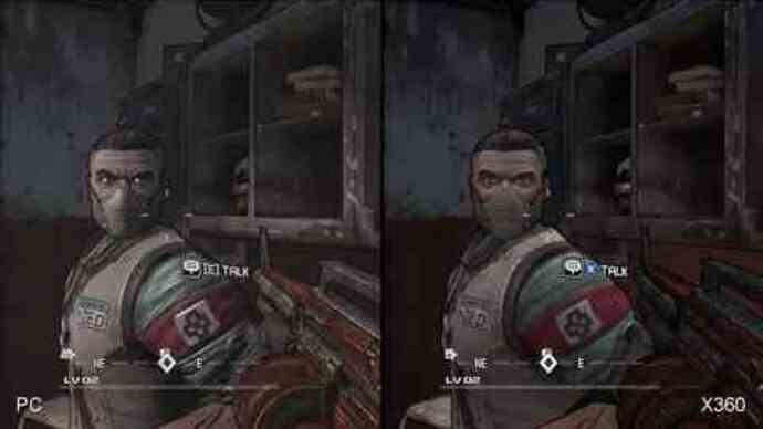 Exclusive: Borderlands PC/X360 Comparison