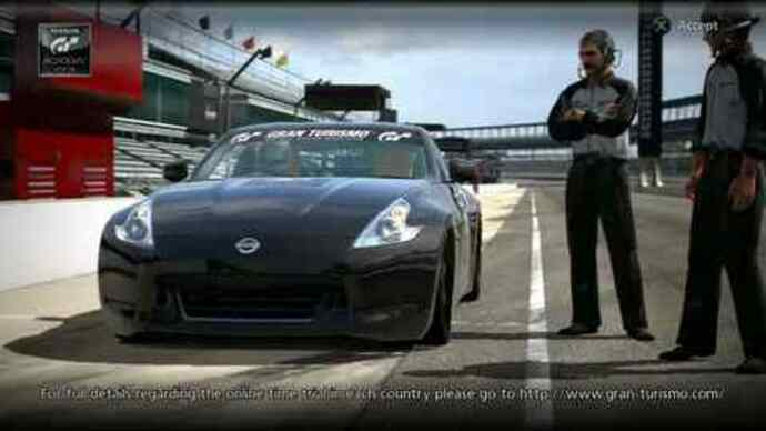 Gran Turismo 5 demo gameplay