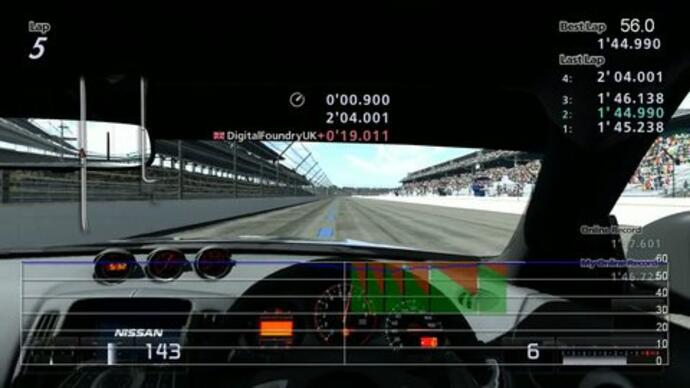 DigitalFoundry- Gran Turismo 5 Time Trial Demo: 1080p Performance Analysis