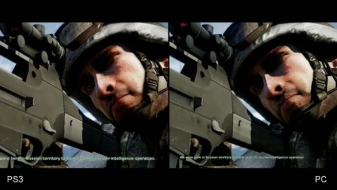 DigitalFoundry- Battlefield: Bad Company 2 PS3 vs. PC Face-Off
