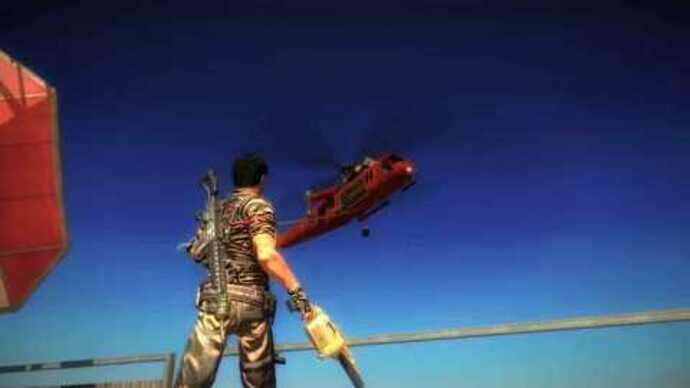 Just Cause 2 demo announcement trailer