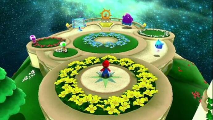 New Super Mario Galaxy 2 trailer