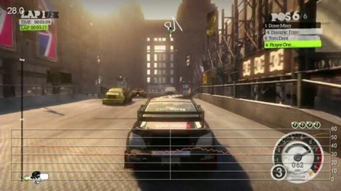 OnLive: DiRT2 performance analysis