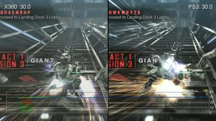Vanquish demo PS3/360 performance analysis