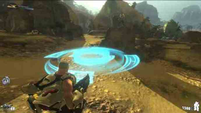 Firefall gameplay footage