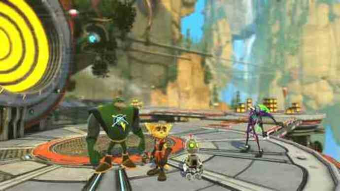 Ratchet & Clank: All 4 One -Gameplay