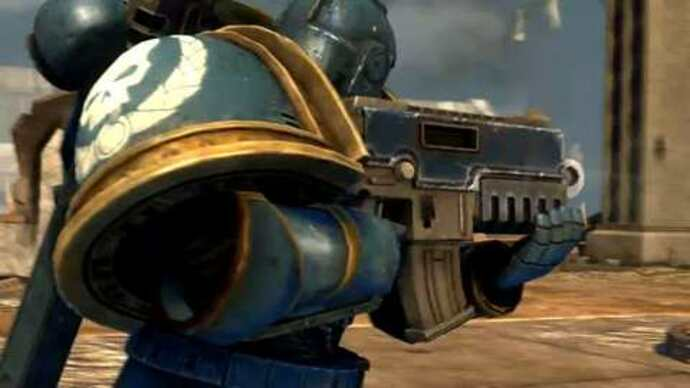 Warhammer 40.000: Space Marine trailer