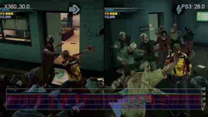 Dead Rising 2: Xbox 360 vs. PS3 performance analysis