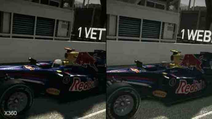 F1 2010: Xbox 360 vs. PC Face-Off