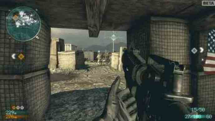 Medal of Honor PC beta gameplay