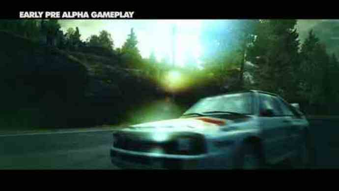 Pre-alpha gameplay for DiRT3