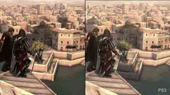 Assassin's Creed: Brotherhood PS3/360 Face-Off