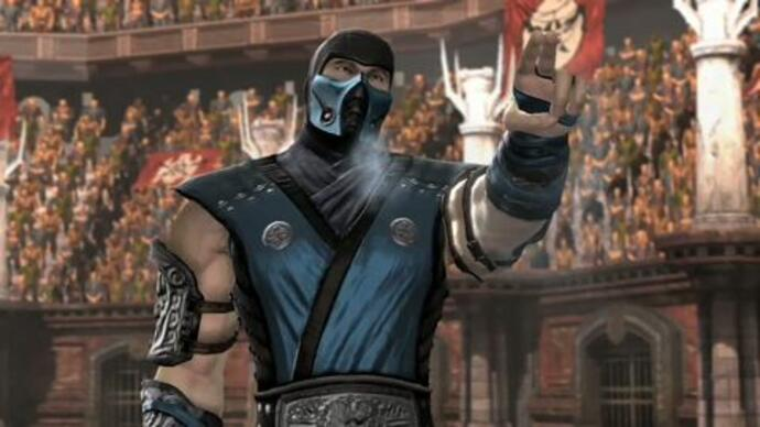Mortal Kombat - Sub Zero Gameplay