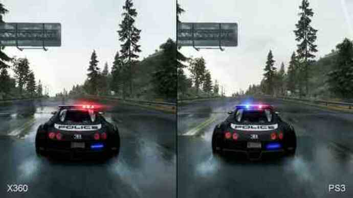 NFS: Hot Pursuit PS3/360 Face-Off