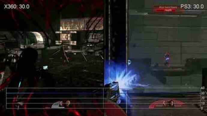 Mass Effect 2: PS3/360 Gameplay Performance