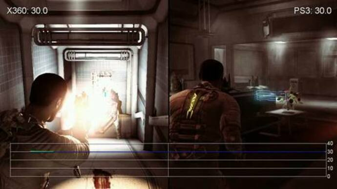 Dead Space 2: PS3/360 Gameplay Performance Tests