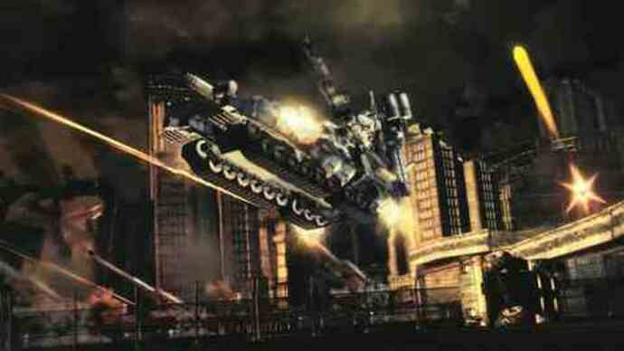 Explosive Armored Core V trailer