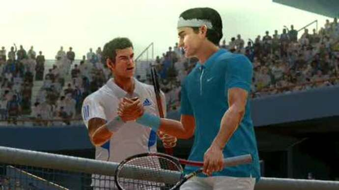 Virtua Tennis 4 gameplay footage
