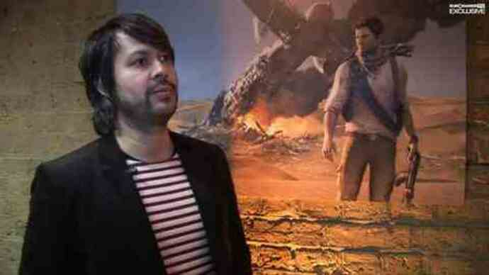 Uncharted 3 interview og gameplay