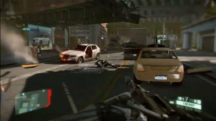 Crysis 2 trailer is full of road rage