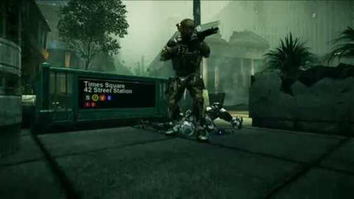 Crysis 2 video details multiplayer