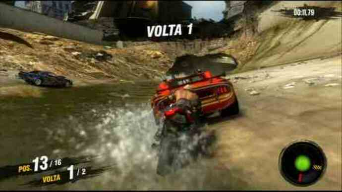 MotorStorm: Apocalypse - Motos gameplay