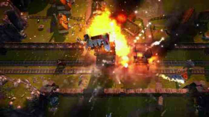 Vanguard's Gatling Gears trailer rockets in