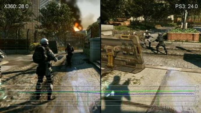 Crysis 2 PS3/360 Gameplay Performance