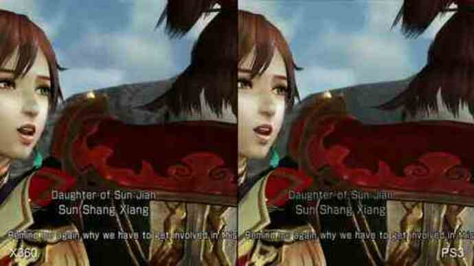Dynasty Warriors 7 PS3/360 Face-Off