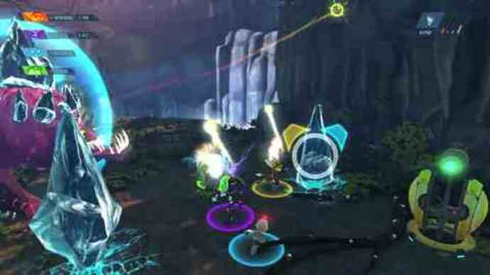 Ratchet & Clank: All 4 Onegameplay