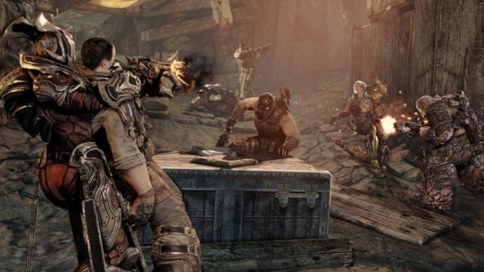 Gears of War 3 - Multiplayer-Beta Gameplay-Video: Trenches