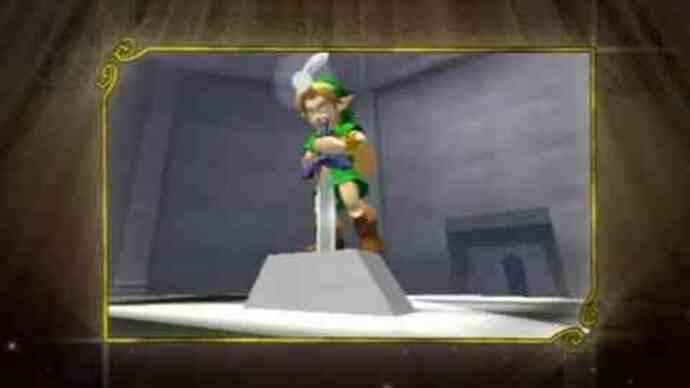 New Zelda: Ocarina Of Time 3D trailer