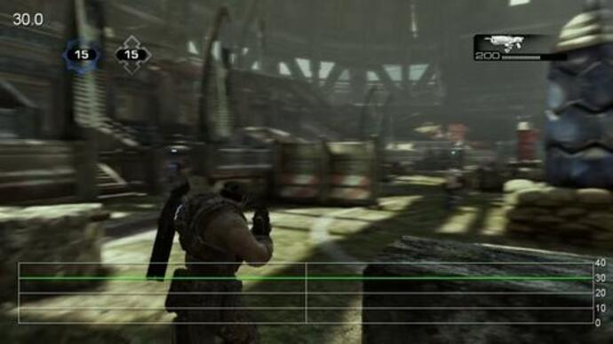 Gears of War 3 Beta: Thrashball Performance