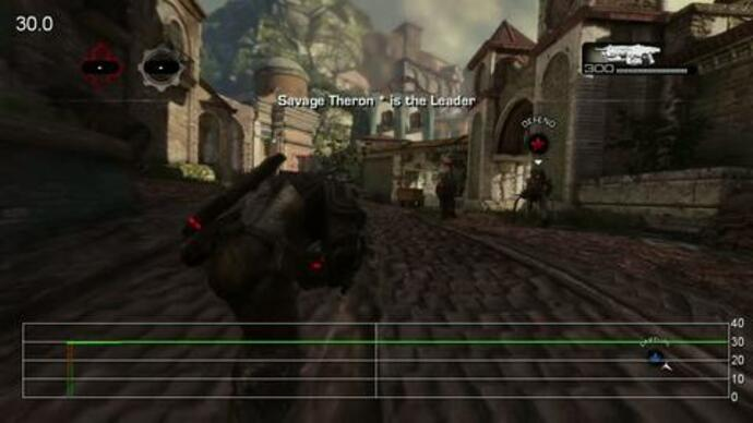 Gears of War 3 Beta: Old Town Performance