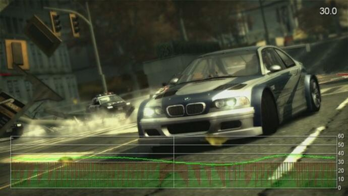 Need for Speed: Most Wanted performanceanalysis