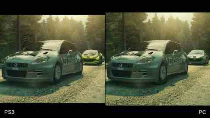 DiRT 3 Xbox 360/PS3Face-Off
