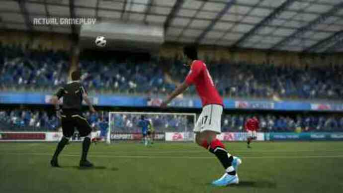 FIFA 12 trailer throws in gameplay