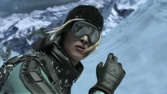 SSX cinematic trailer cruises in