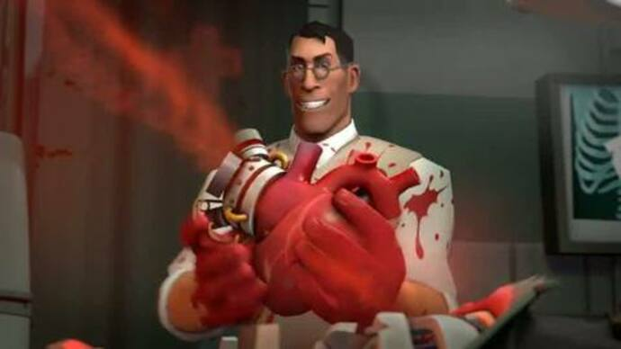 TF2 trailer has you meet the medic