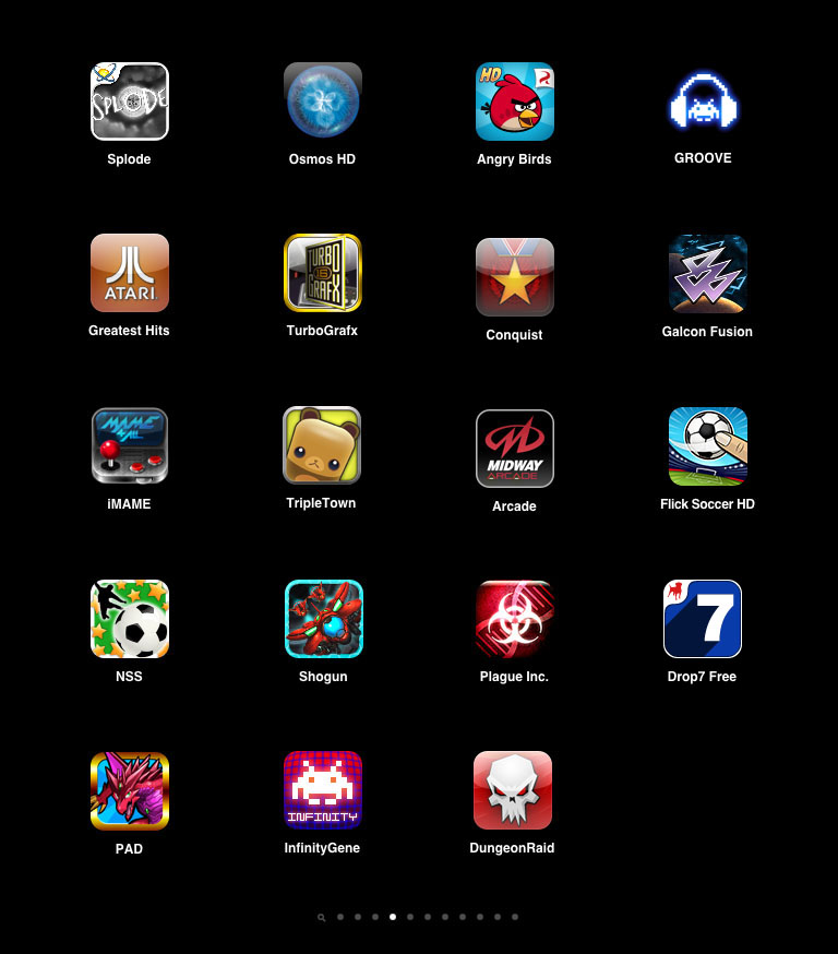 good games for ipad free