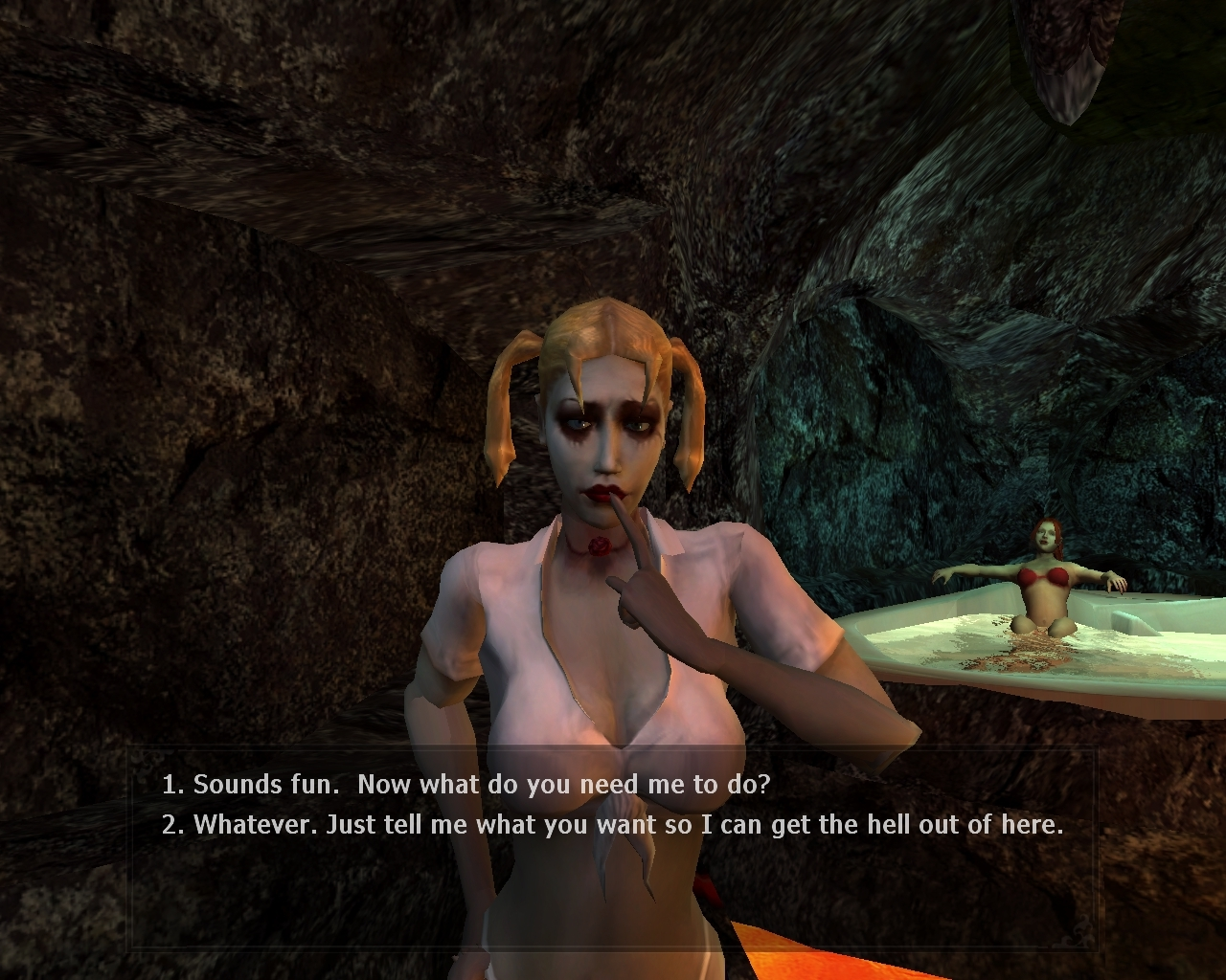 Vampire the masquerade bloolines nude mods softcore scene