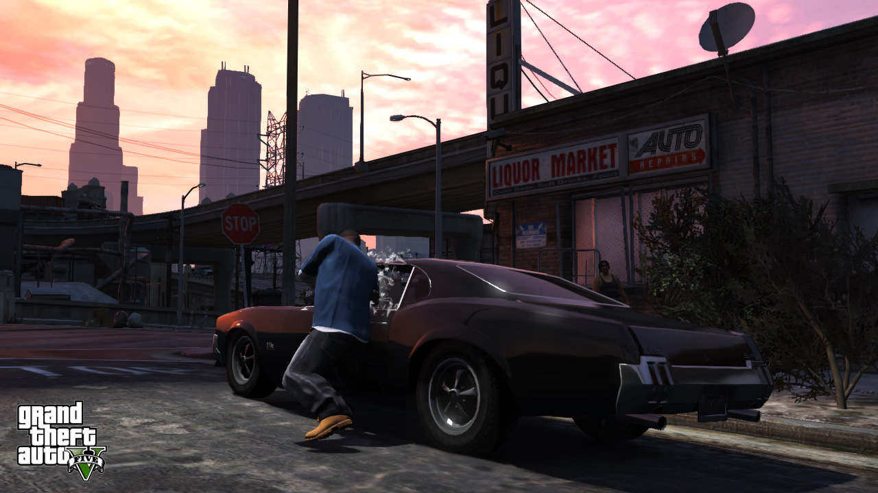 Watch Dogs Vs GTA V Clash Of The Open World Titans USgamer - Guy takes pictures showing just realistic grand theft auto v looks
