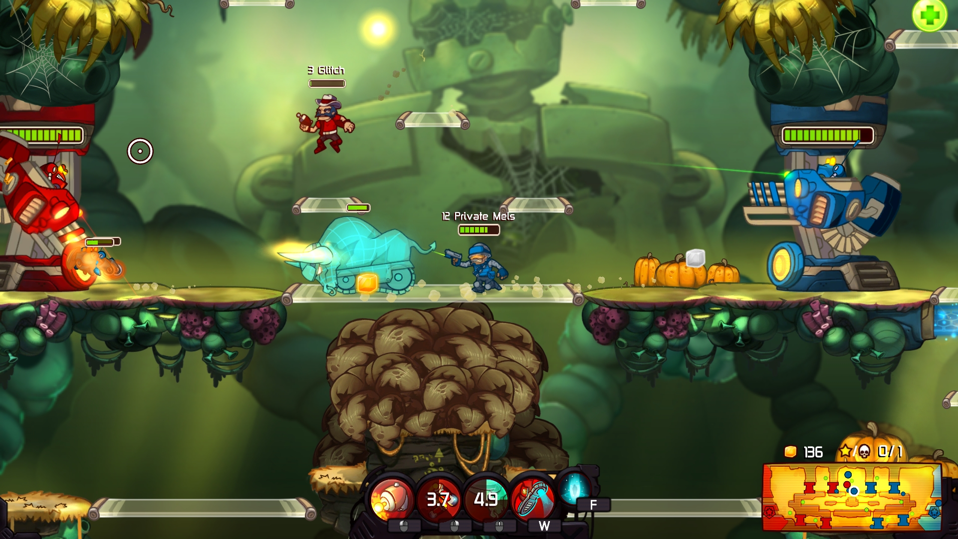 awesomenauts gets charitable with new skin usgamer