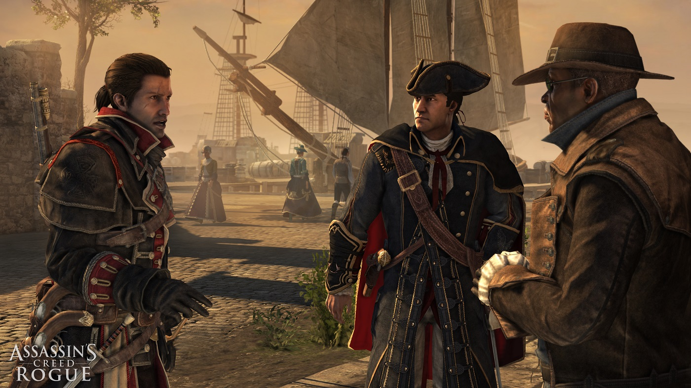Assassin's Creed Rogue HD PS4/XO Have Been Rated in Korea