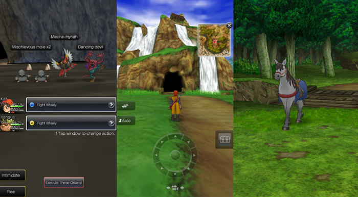 Dragon Quest VIII iOS Review Itty bitty Living Space USgamer