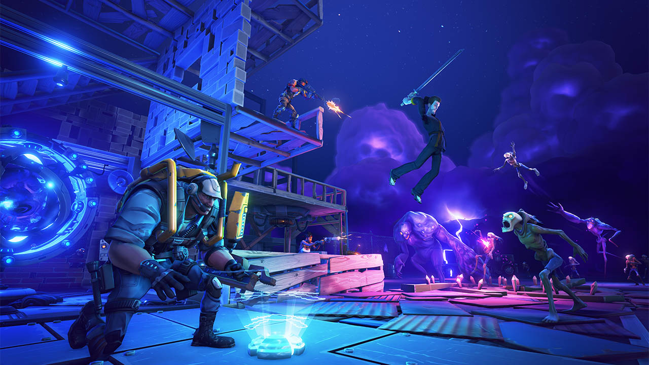 Fortnite Adds Battle Royale Mode