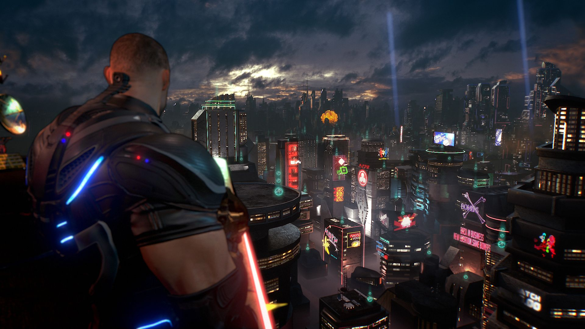 Xbox One & Windows 10's Crackdown 3 delayed until spring 2018