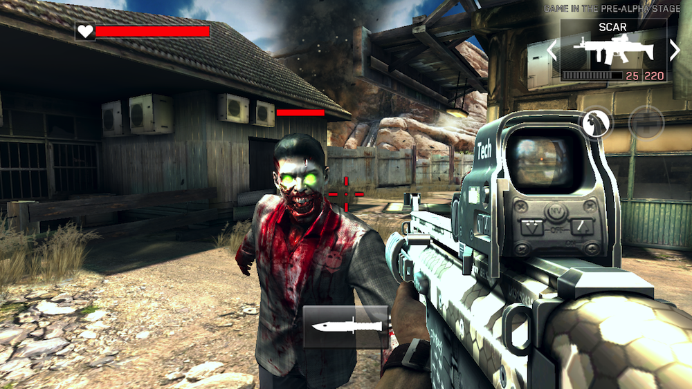 first person shooter games for android free